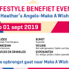 Lifestyle Benefietevent Heather's Angels – Make a Wish