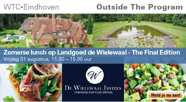 Zomerse lunch op Landgoed de Wielewaal – The Final Edition! (Outside the program)