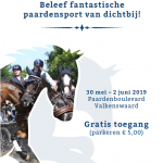 Driving Valkenswaard Internationaal 30 mei – 2 juni 2019