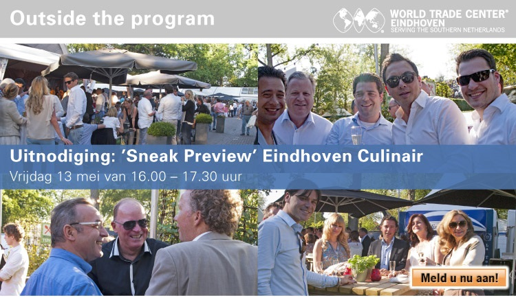 """""""Sneak Preview"""" Eindhoven Culinair (Outside the program)"""