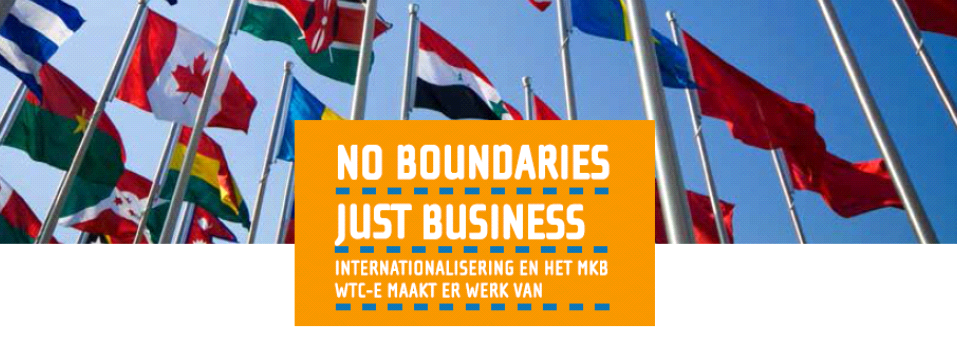 Vlaggen & logo - No Boundaries, Just Business2