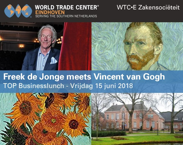 TOP Businesslunch, Freek de Jonge meets Vincent van Gogh