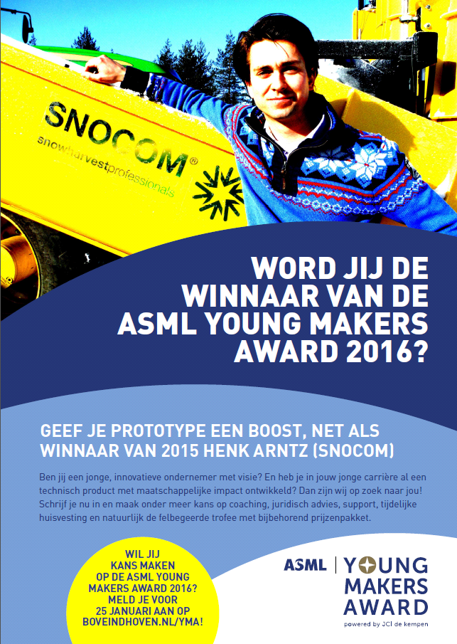 flyer ASML Young Talent Award