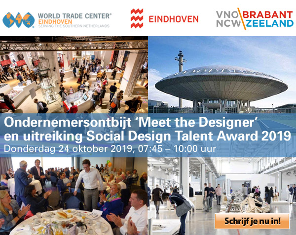 Ondernemersontbijt 'Meet the Designer & uitreiking Social Design Talent Award'