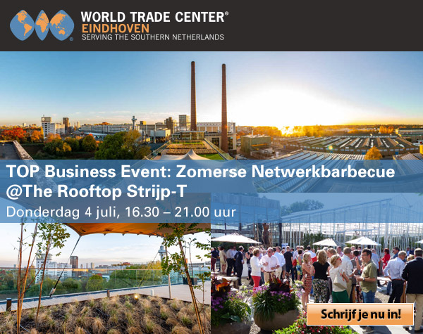 Top Business Event: Zomerse Netwerkbarbecue @The Rooftop Strijp-T