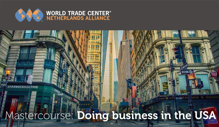 Mastercourse: Doing business in the USA! (outside the program)
